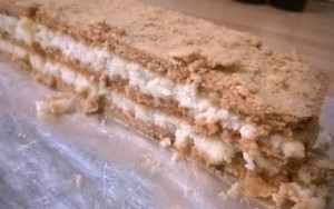 Olesea's Moldovan cheese cake