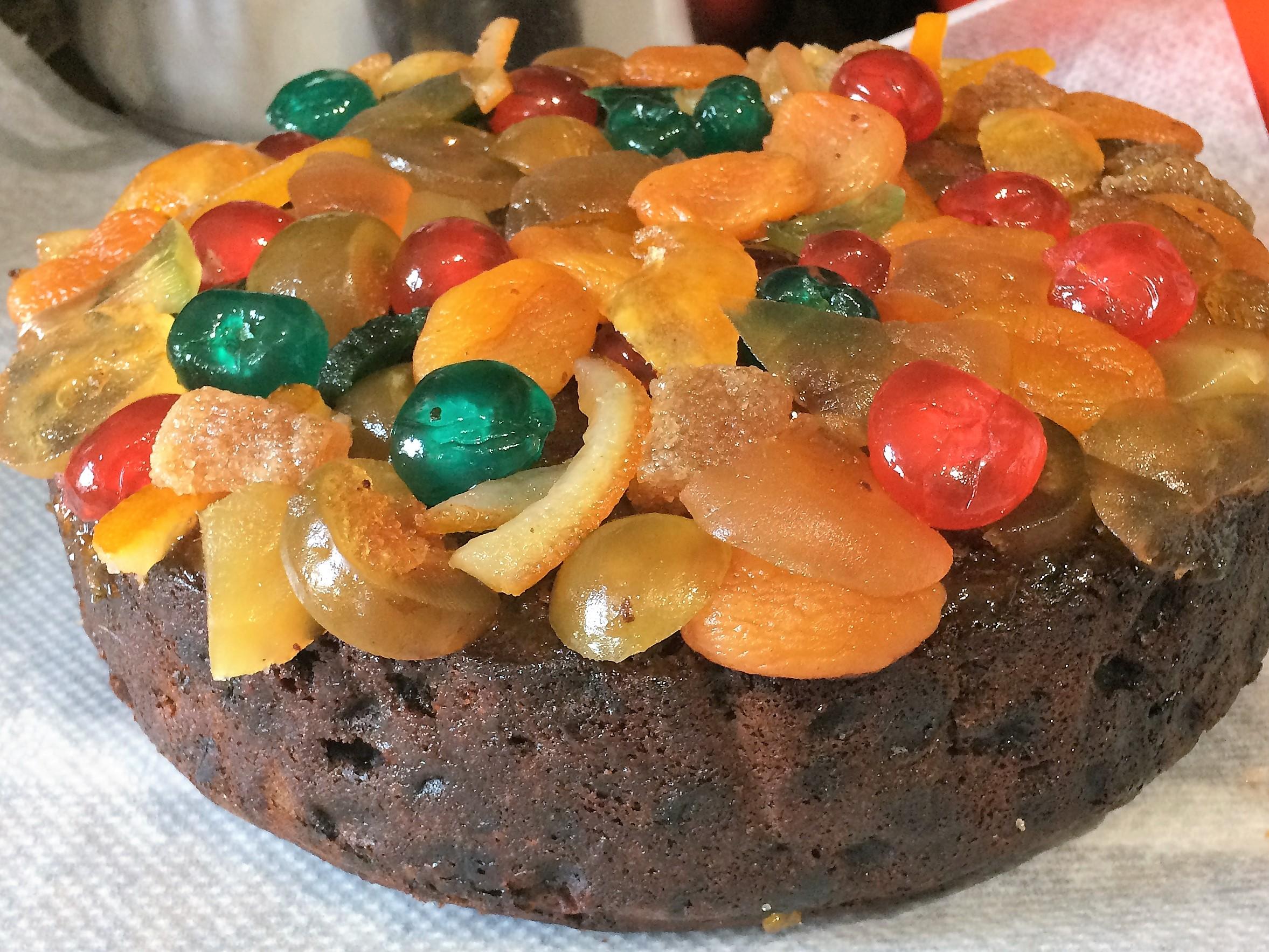 Viviane's Christmas Cake