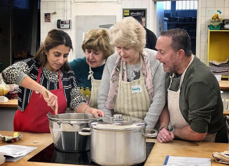 Book your place at our FREE cooking classes for over 50's