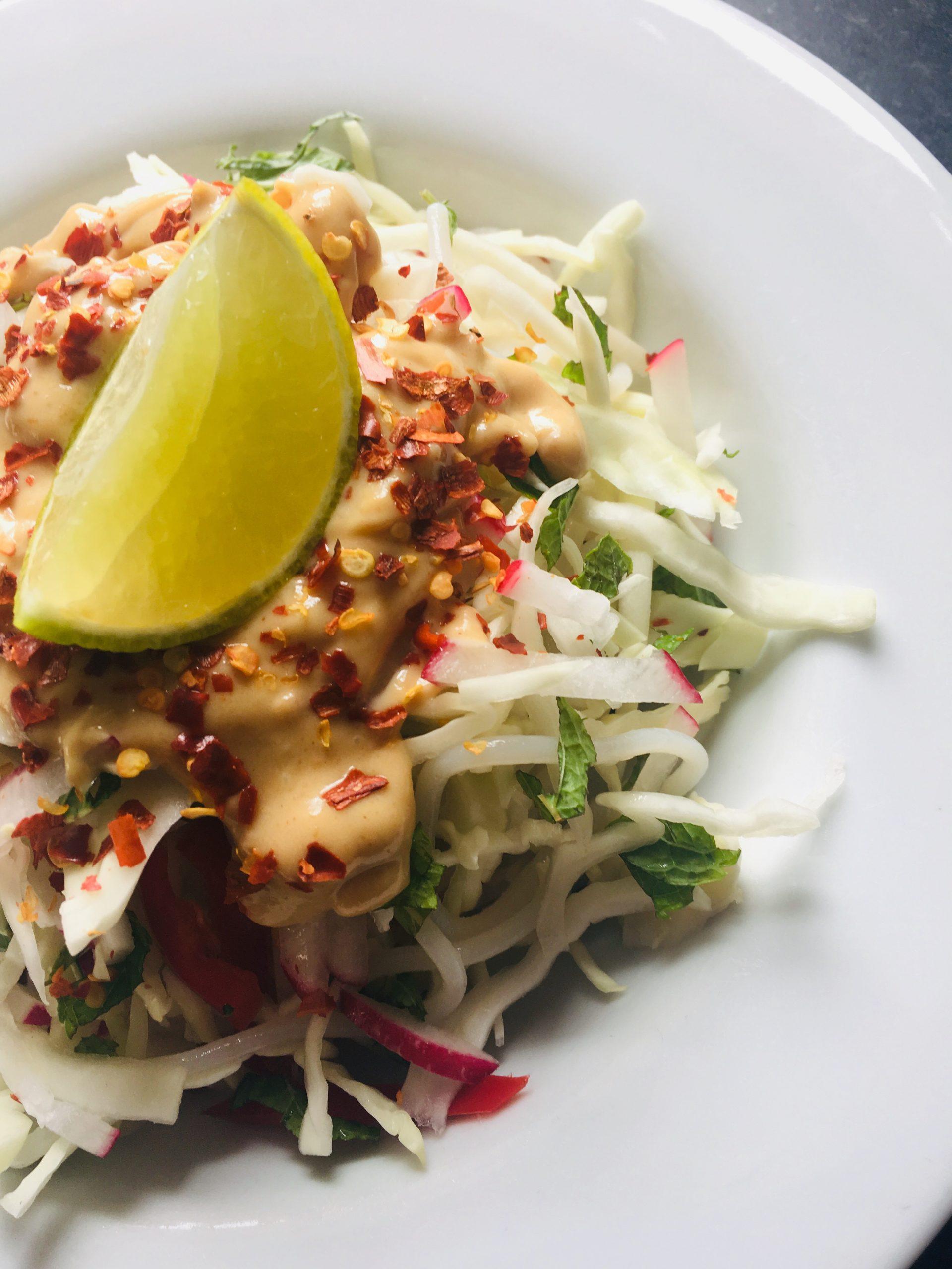 Gena's Satay Noodle Salad